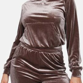 Velour Top and Pant
